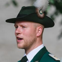 Hauptmann der Jungschützen Heiner Gosda